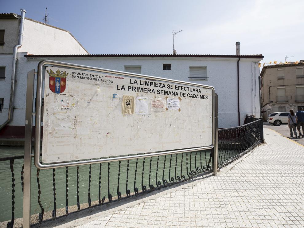 Imagen de archivo de una calle de San Mateo de Gállego.