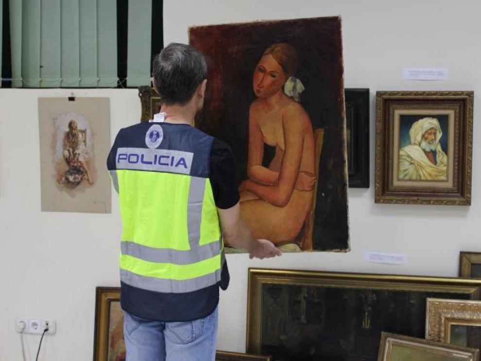 Impiden la venta de una obra falsificada de Modigliani tasada en 50 millones.