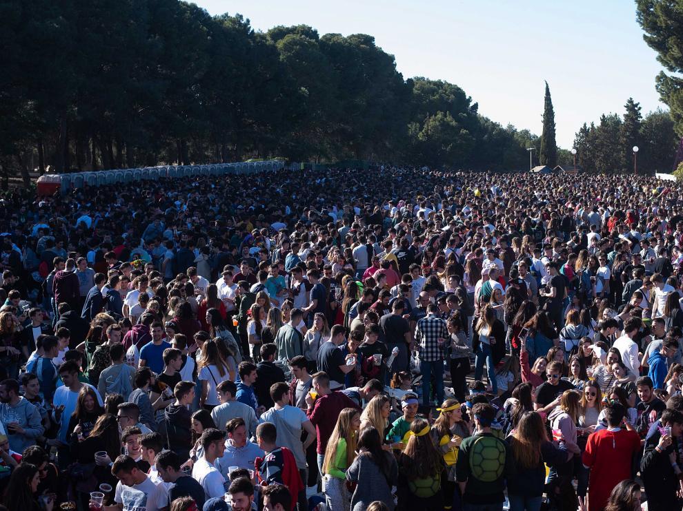 La parcela elegida se utilizó el pasado mes de marzo para la fiesta de San Pepe.