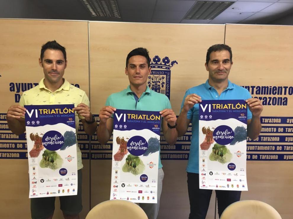 Presentación de la quinta edición del Triatlón de Tarazona y el Moncayo.