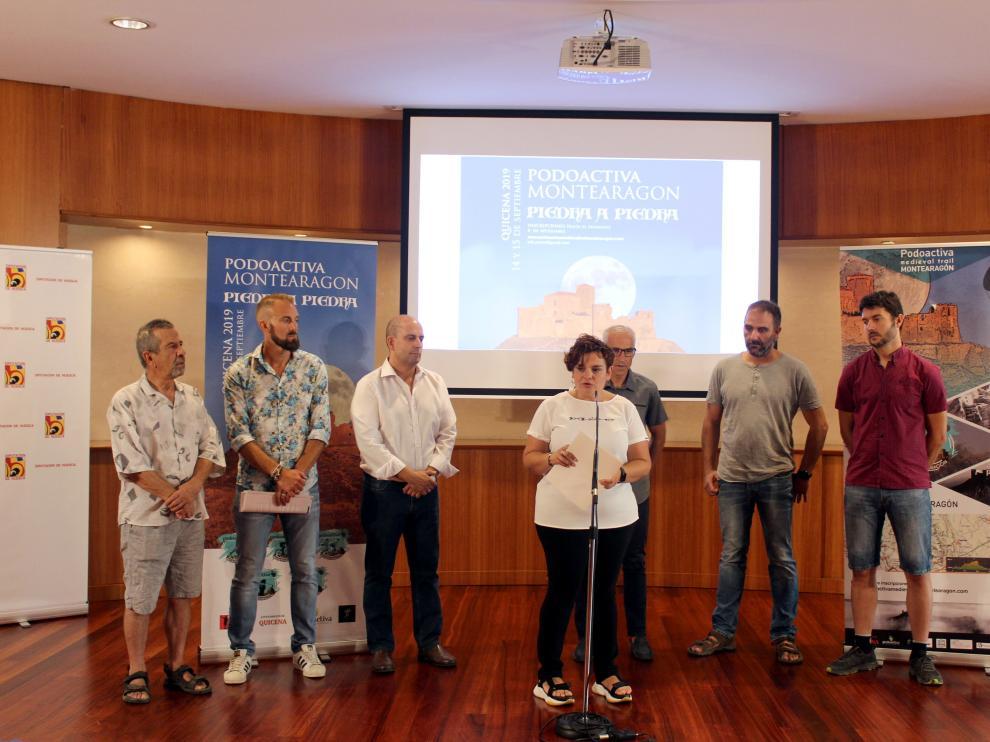 Presentación de la Podoactiva Montearagón.