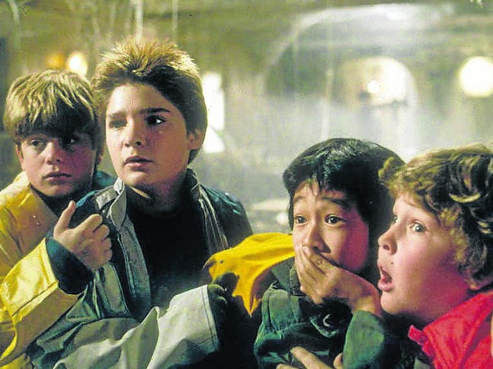 'Los Goonies' no caen en el olvido. El 22 de agosto se reestrena el filme en los Palafox.