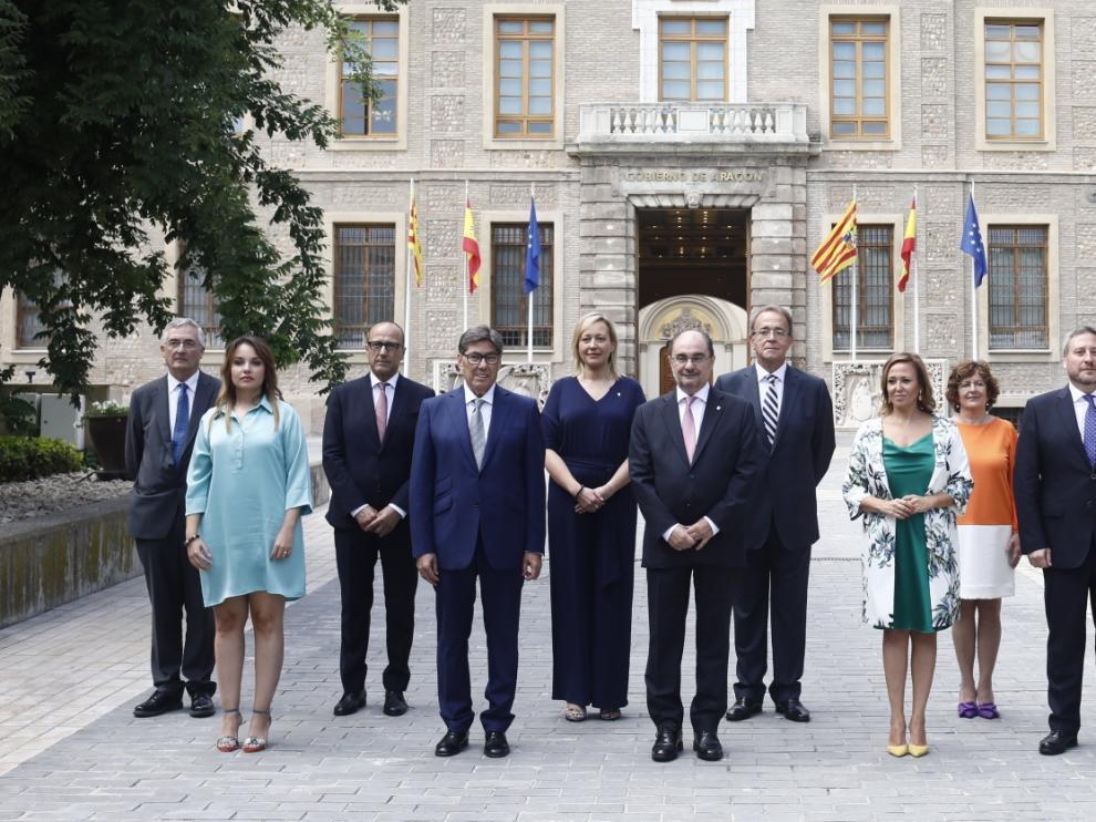 Nuevo Gobierno de Aragón tripartito