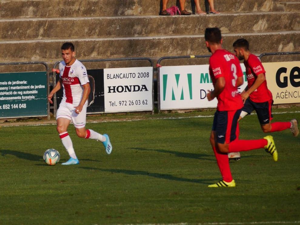 La S. D. Huesca contó con ocasiones de gol, sobre todo en la primera parte.