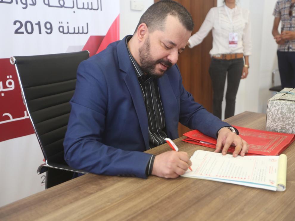 Mounir Baatour primer candidato abiertamente gay en la historia de Túnez.