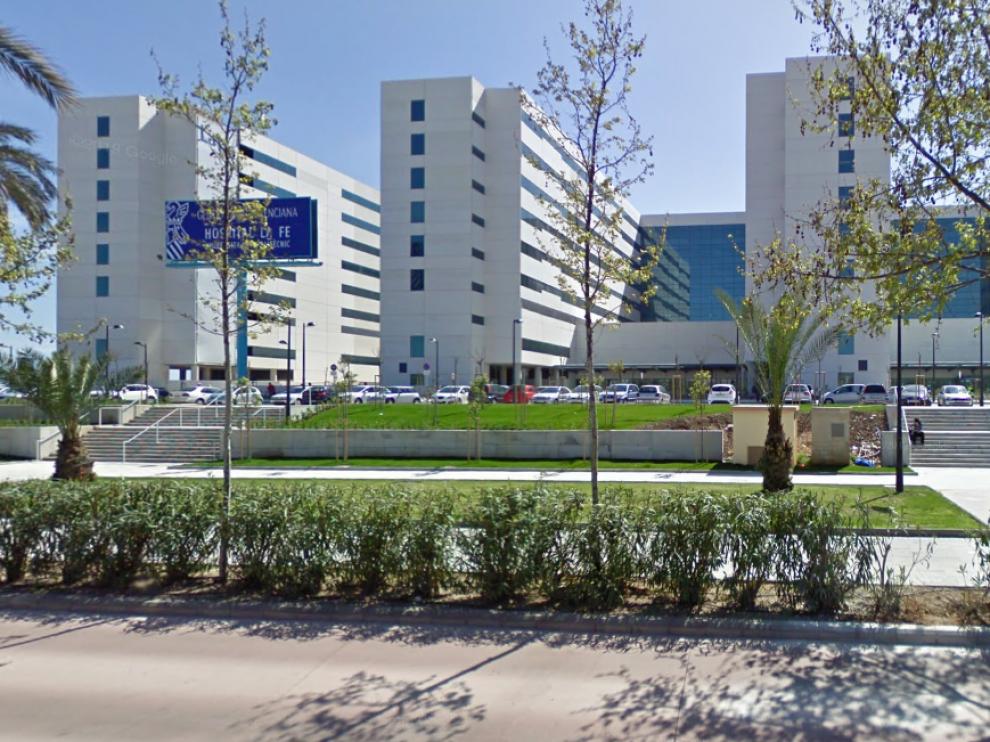 Hospital La Fe de Valencia, donde la madre llevó al bebé de 15 meses a urgencias.