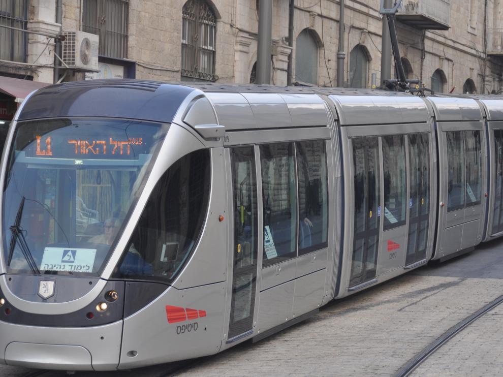 Tranvía Jerusalén
