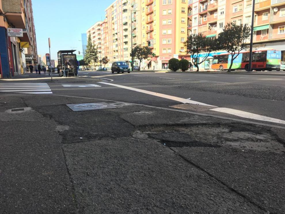 Avenida de Navarra.