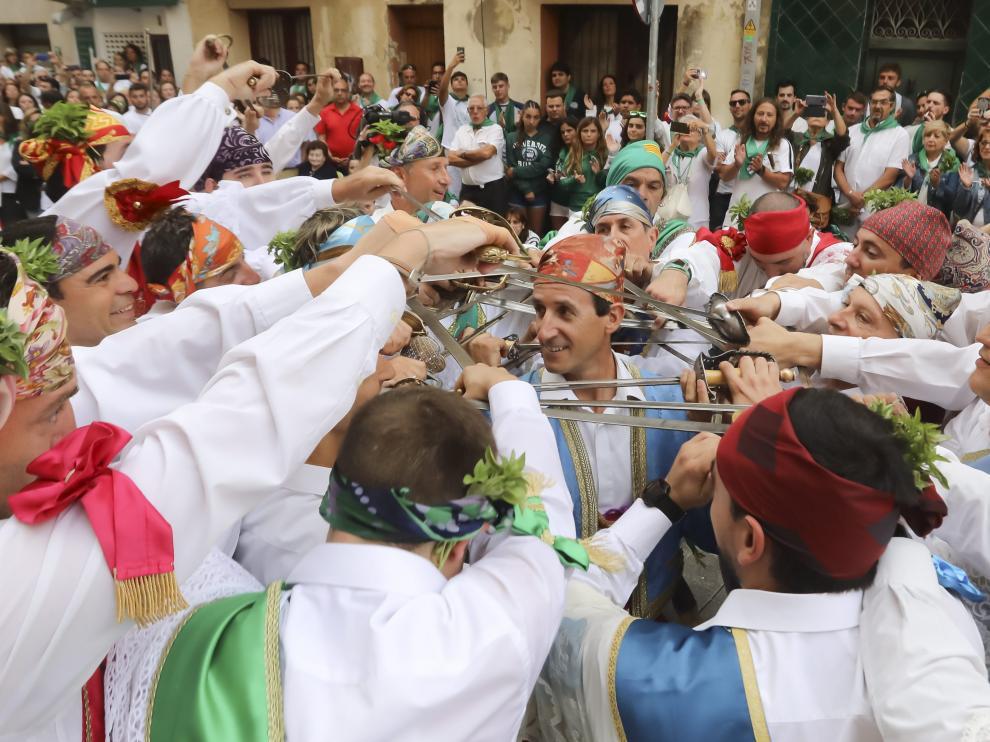 Fiestas de San Lorenzo 2018 - Danzantes / 10-8-18 / Foto Rafael Gobantes [[[FOTOGRAFOS]]]