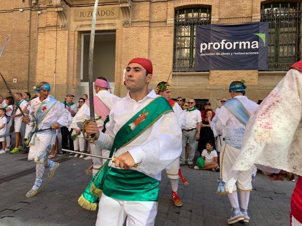 Carlos Nasarre es uno de los dos danzantes que se ha estrenado este 10 de agosto.