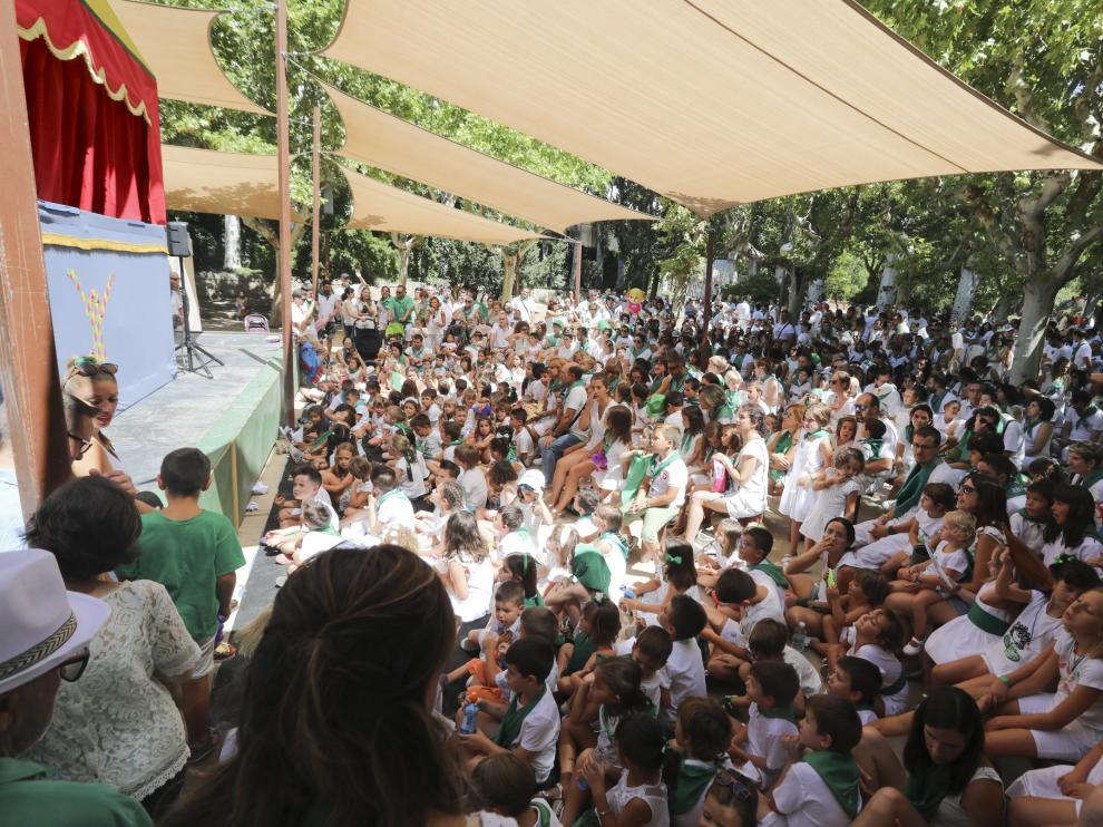 FIESTAS DE SAN LORENZO 2019 - Gorgorito / 10-8-19 / Foto Rafael Gobantes [[[DDA FOTOGRAFOS]]]