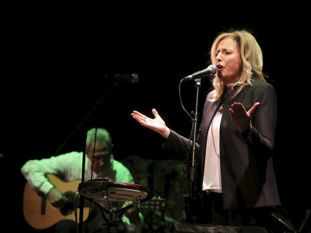 Olga y los Ministriles presentan su nuevo disco en el CC Matadero de Huesca /Foto Rafael Gobantes / 11-12-16