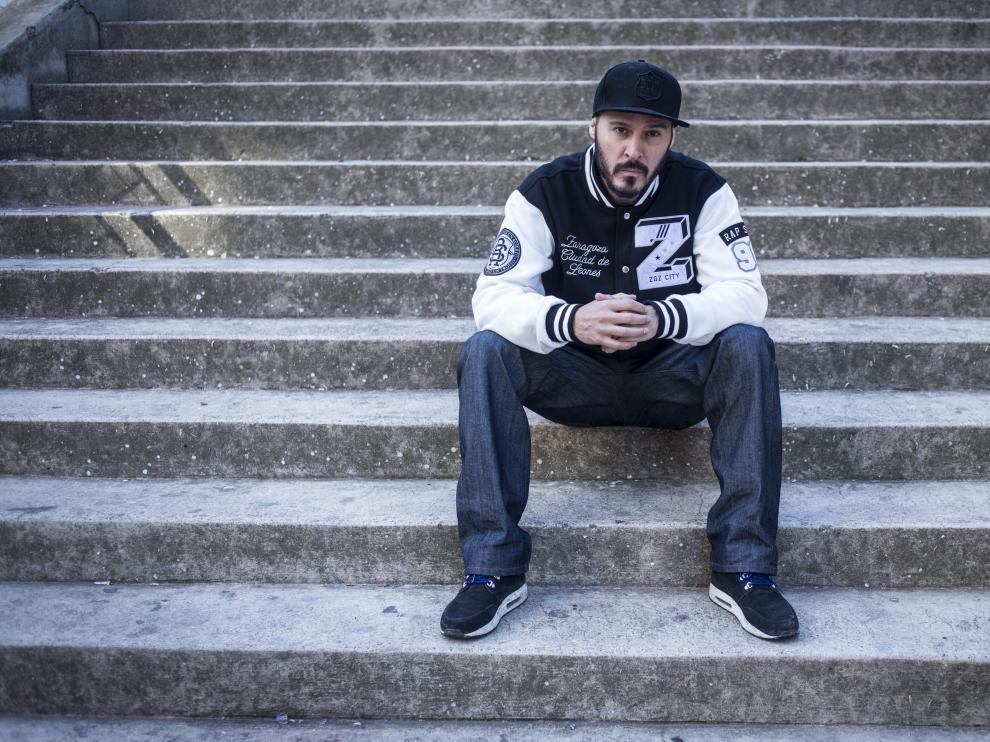 David Gilaberte Miguel, el rapero zaragozano conocido como Lírico.