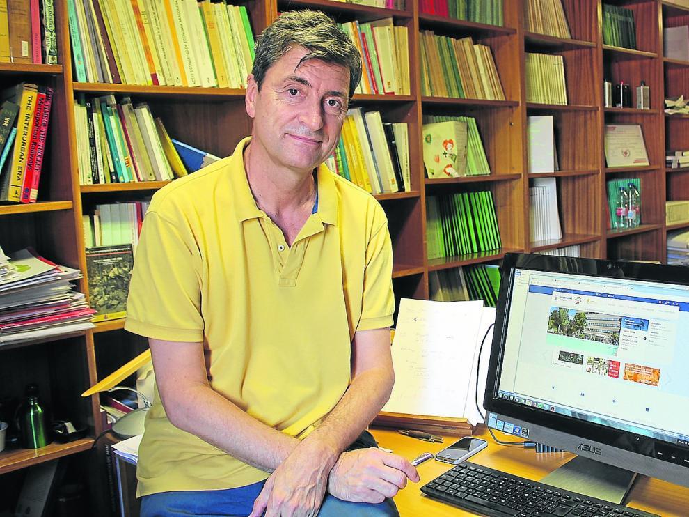 Vicente Pinilla, profesor de de Estructura e Historia y Economía Pública de la Facultad de Economía y Empresa de la Universidad de Zaragoza