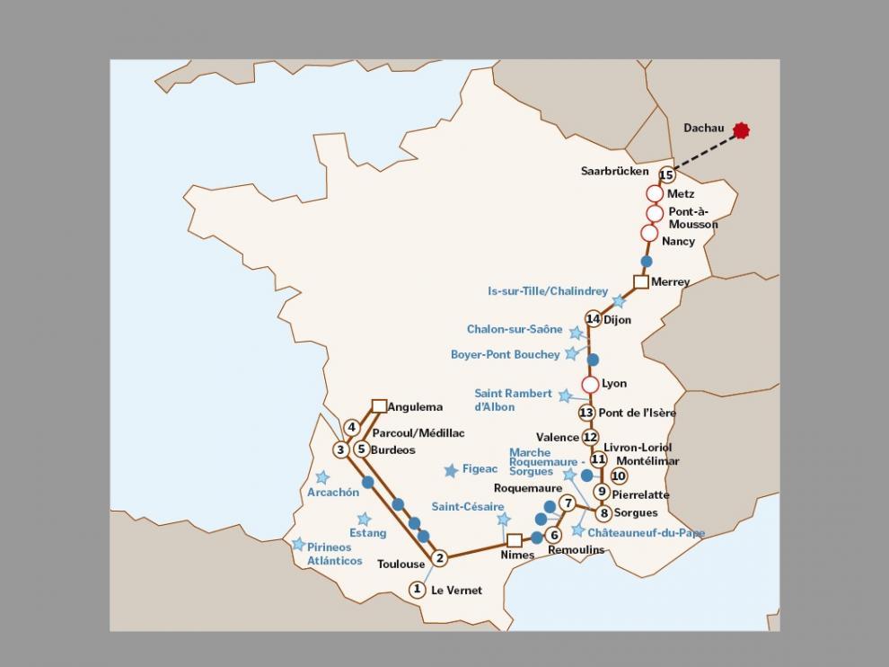 deportados aragoneses segunda guerra mundial campos de concentración  historia