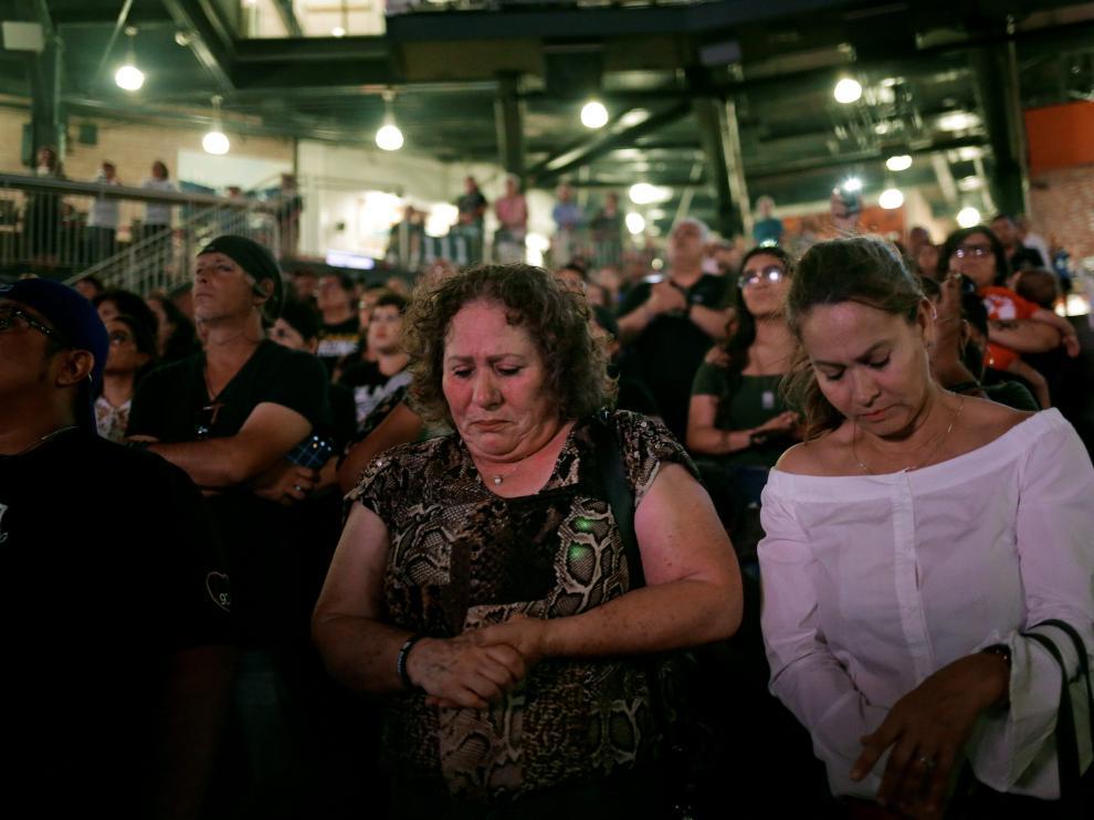 Homenaje a los asesinados en el tiroteo de El Paso.