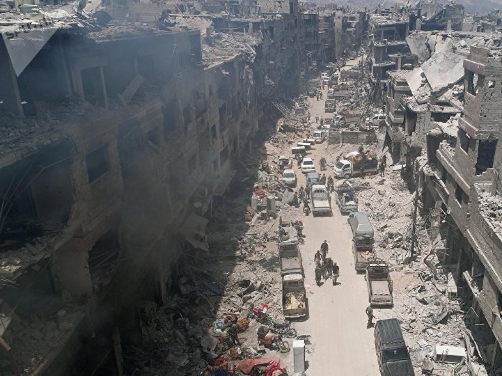 guerra onu derechos humanos internacional siria