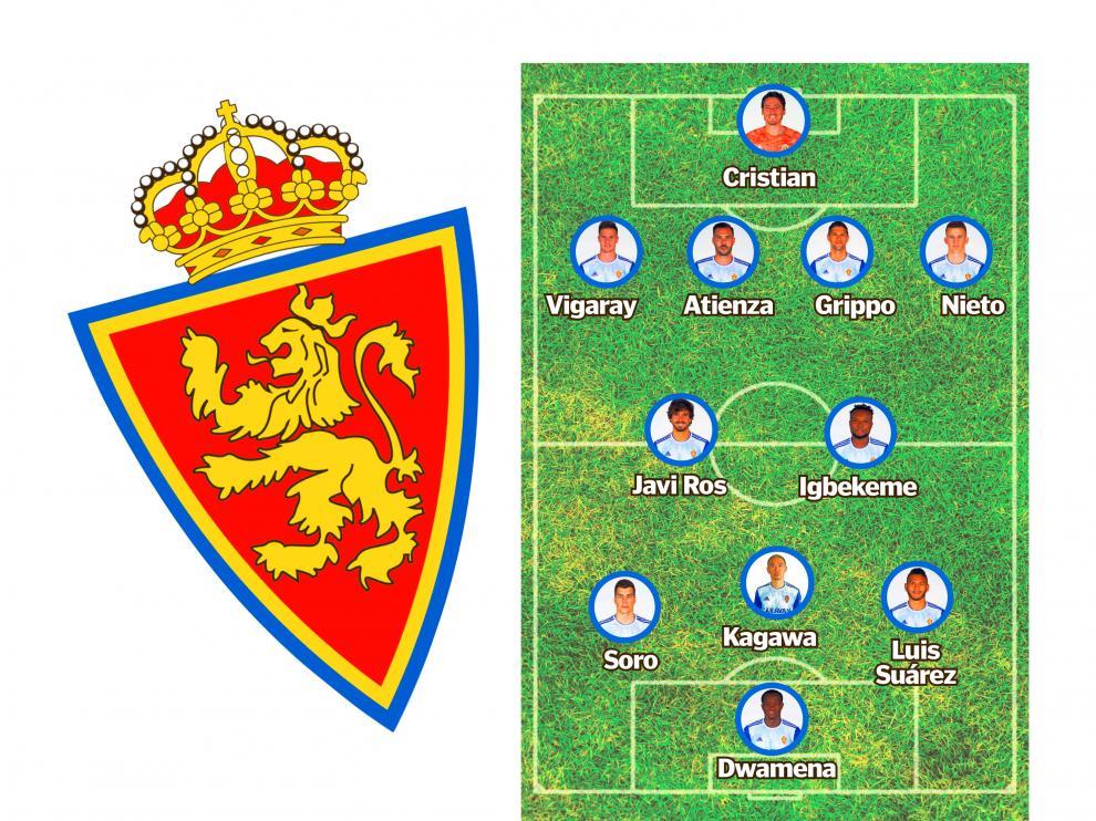 Posible once titular en el Real Zaragoza