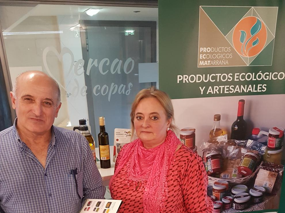 Bernardo Funes y su esposa María Teresa Jove.