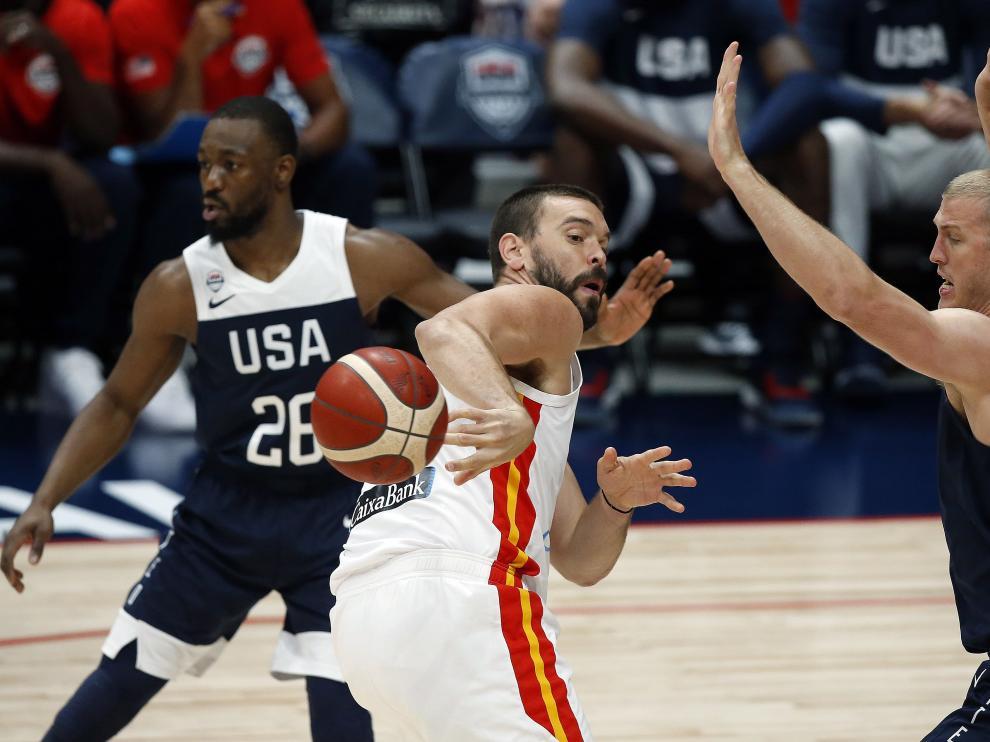 Estados Unidos fue mejor que España y muestra su condición de campeón