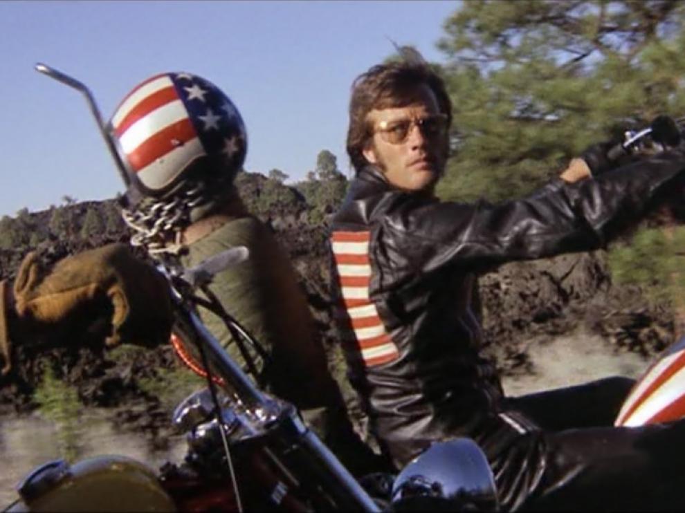 Peter Fonda, en el filme 'Easy Rider'
