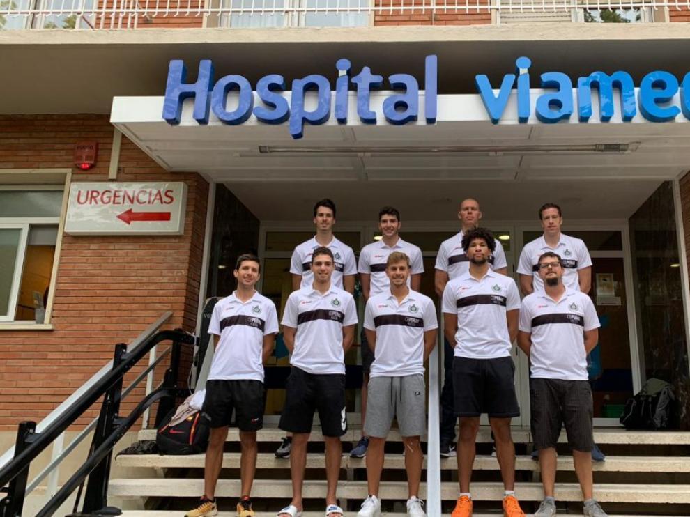 Los jugadores del Levitec se han sometido a pruebas médicas y físicas en el arranque de la pretemporada.