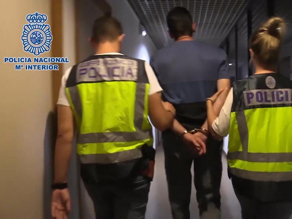 Detención del asesino de la cirujana de Madrid.