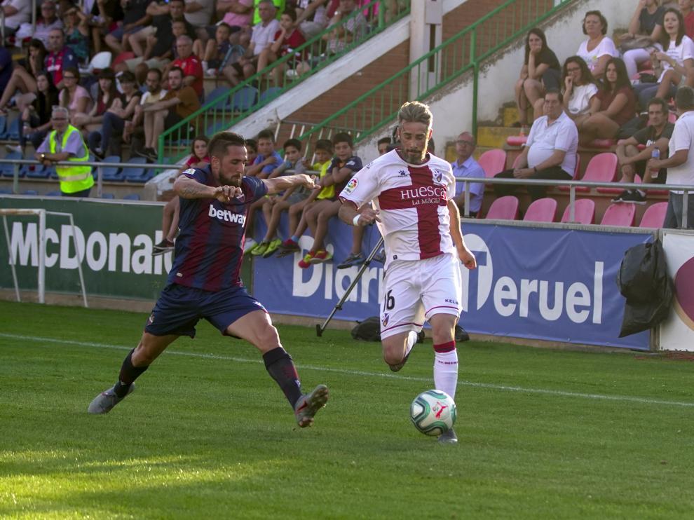 Futbol. partido Amistoso entre UD Levante y Huesca en Teruel. Foto Antonio Garcia/bykofoto. 01/08/19 [[[FOTOGRAFOS]]]