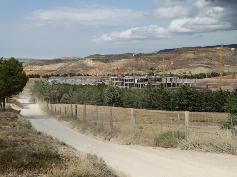 Obras nuevo hospital de Teruel /2019-08-20/ Foto: Jorge Escudero [[[FOTOGRAFOS]]]