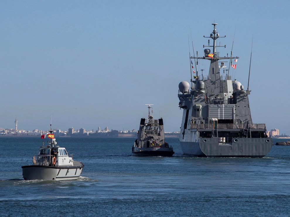El buque Audaz prosigue su ruta hacia Lampedusa para auxiliar al Open Arms