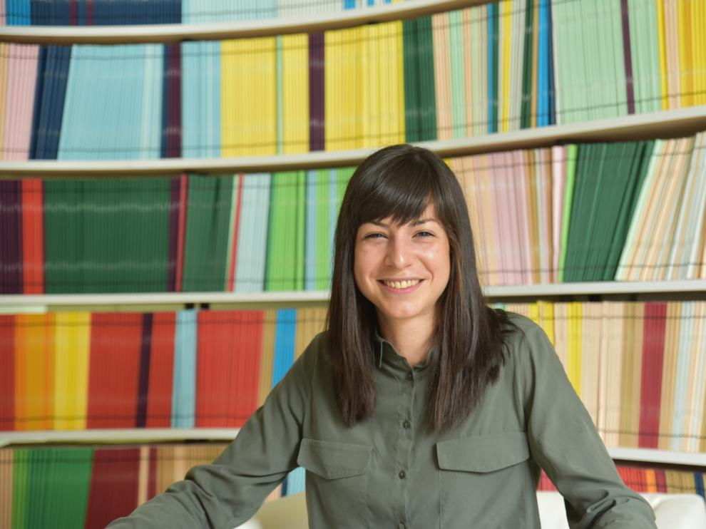 La investigadora zaragozana Cristina Mayor Ruiz