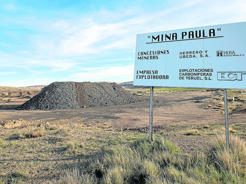 La mina de carbón Paula permanece inactiva desde hace más de una década.