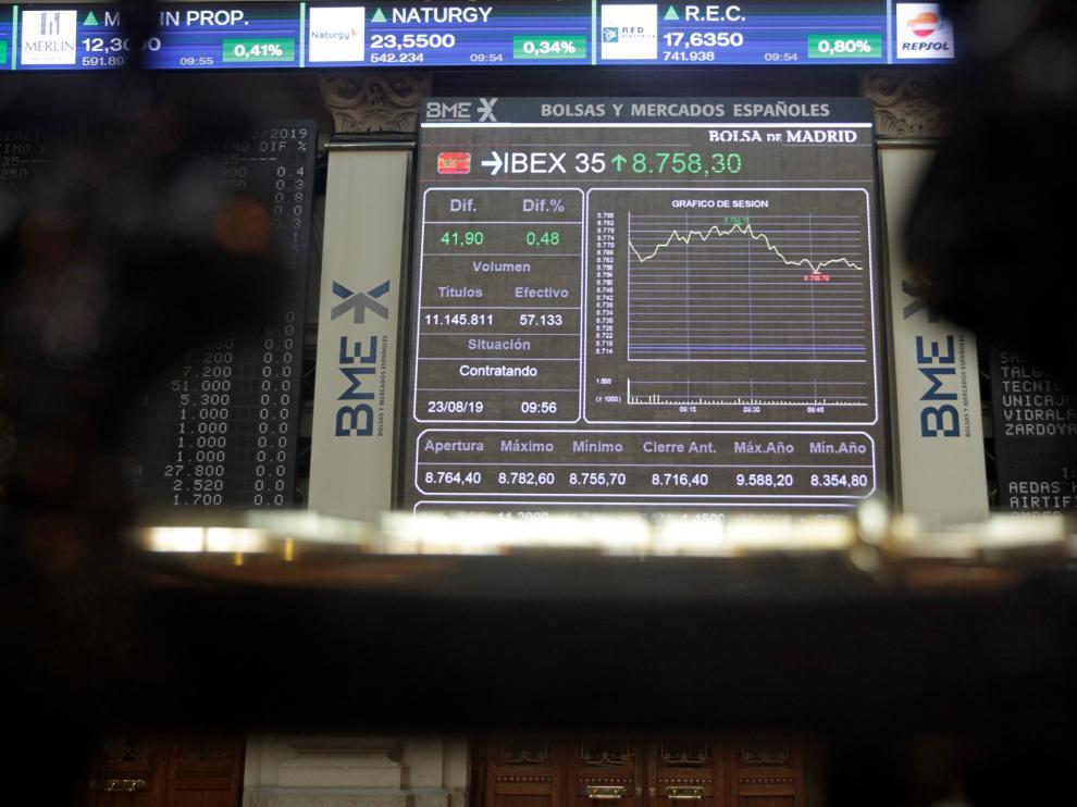El IBEX 35, terminó la semana en 8.649,5 puntos.