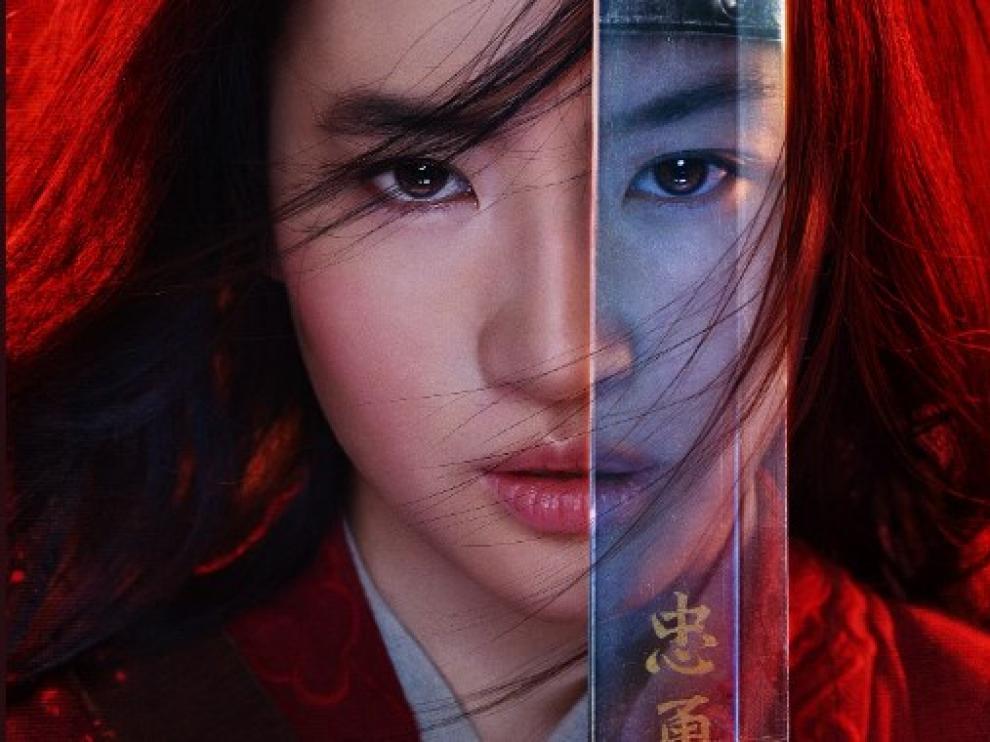 Cartel del 'remake' de Mulan.