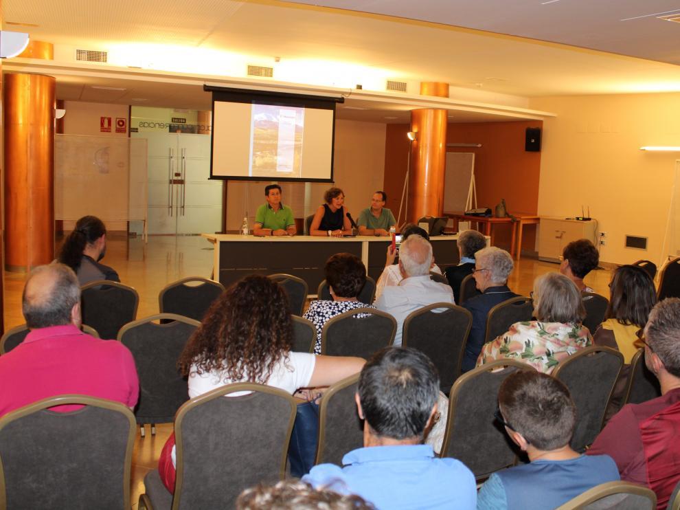 El acto ha tenido lugar en el Centro de Mayores de Tarazona.