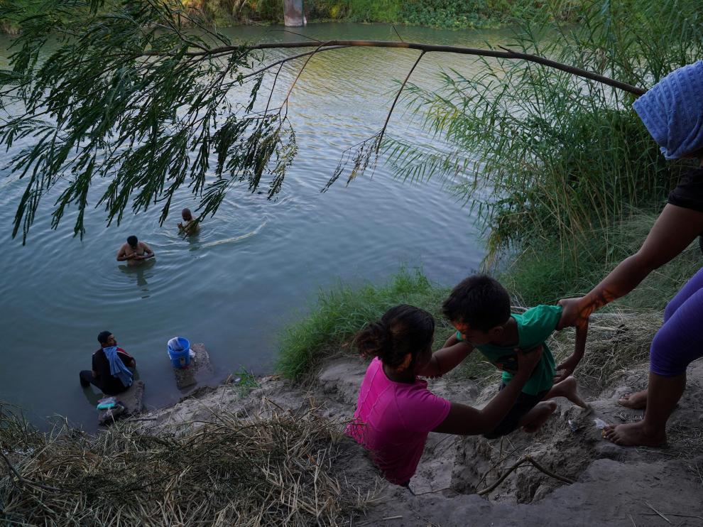 Río Grande se está convirtiendo en una zona de entrada a Estados Unidos.