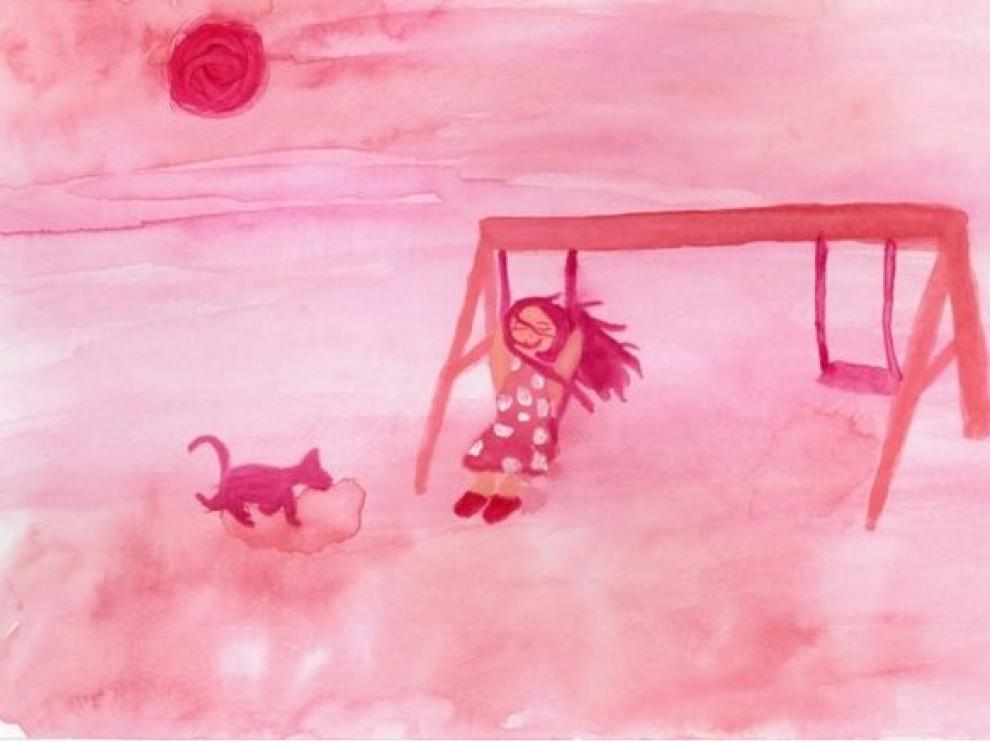 Ilustración del cuento 'Los colores del tiempo'.