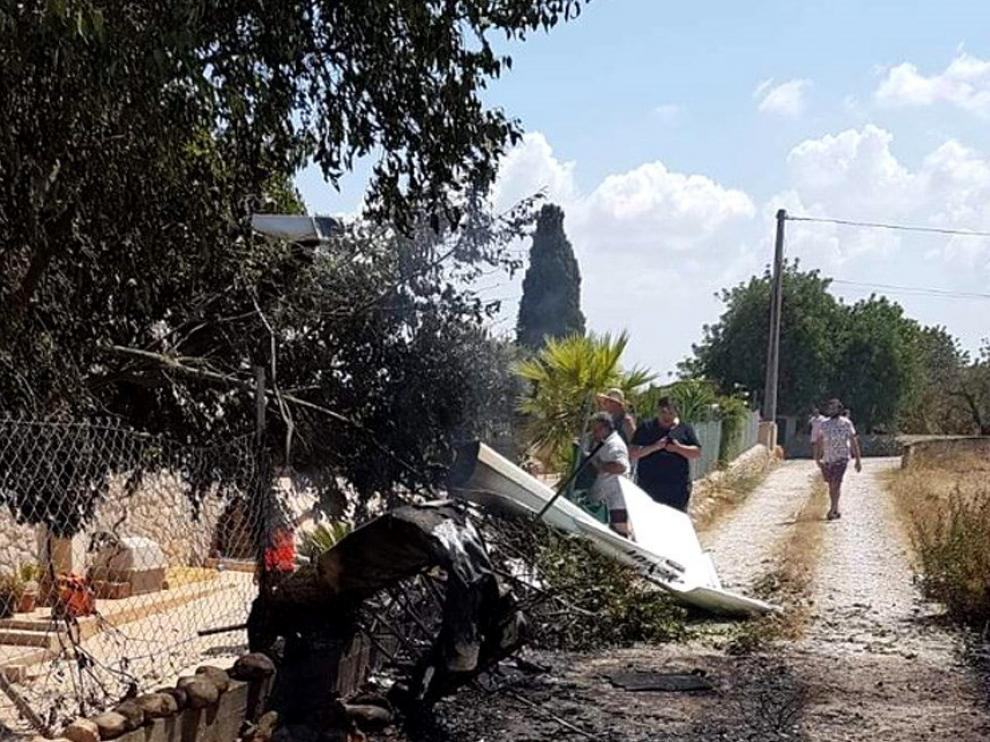 Cinco muertos tras chocar una avioneta y un helicóptero en Mallorca
