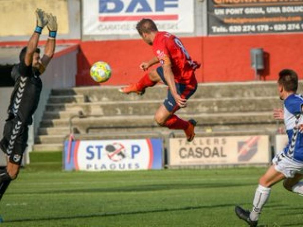 Fútbol. Segunda B: UE Olot vs. CD Ebro
