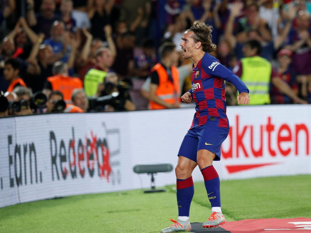 Griezmann salva al Barcelona.
