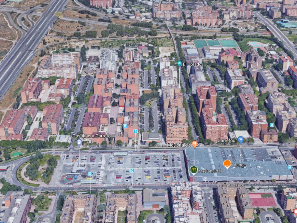 Los hechos han tenido lugar a las 7.30 en la calle José María Beltrán de Zaragoza