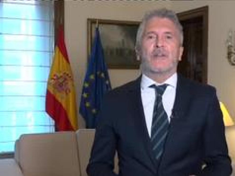 """El ministro de Interior en funciones, Fernando Grande-Marlaska, ha asegurado que lo que quieren es generar unas fronteras """"del siglo XXI""""."""
