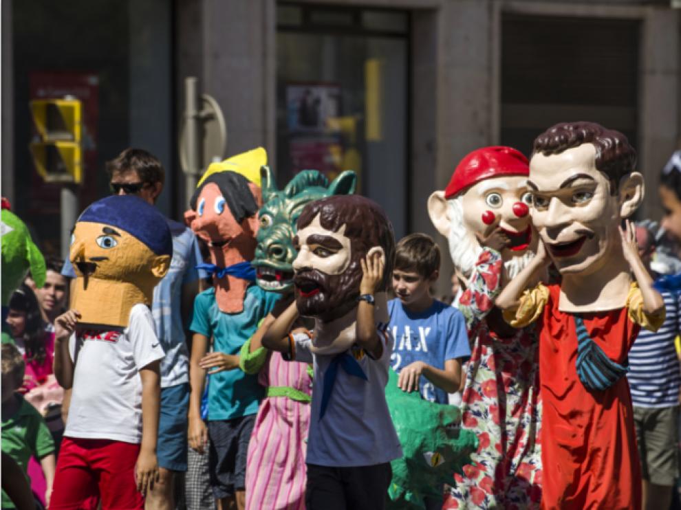 Imagen de archivo de las fiestas patronales de Barbastro.