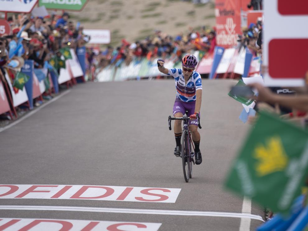 Madrazo sorprende en Javalambre y López es el nuevo líder de la Vuelta a España