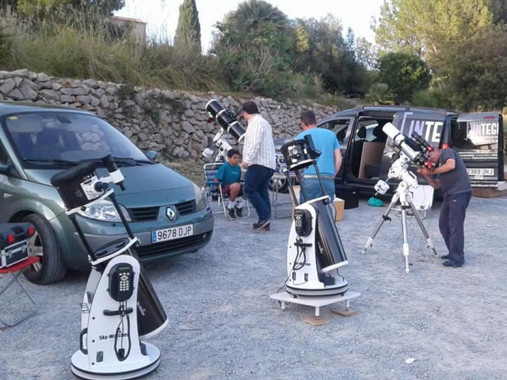 Comienzo del proyecto Astro-GavaLab en Villa de Alcudia, Ciudad Real