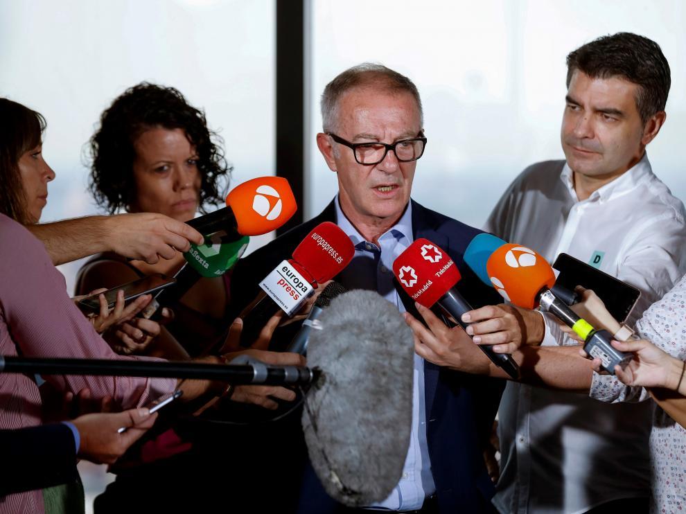 El ministro de Cultura en funciones, José Guirao, este jueves.