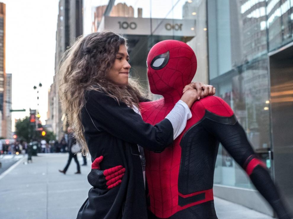 Fotograma de 'Spider Man: lejos de casa'