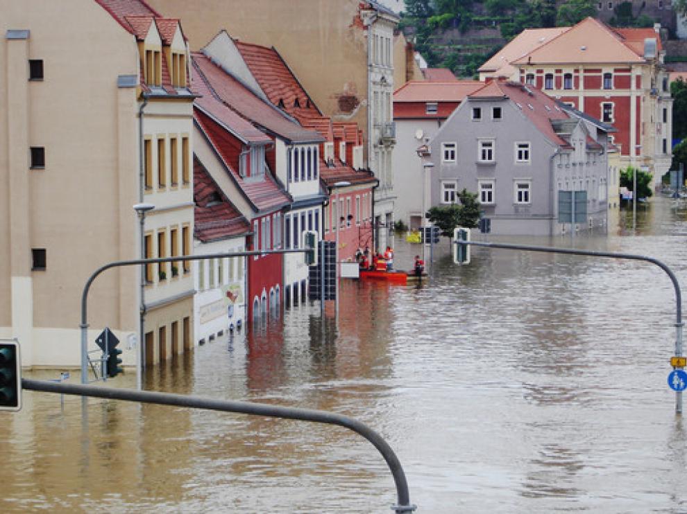 La magnitud de las inundaciones varía en función de la región europea
