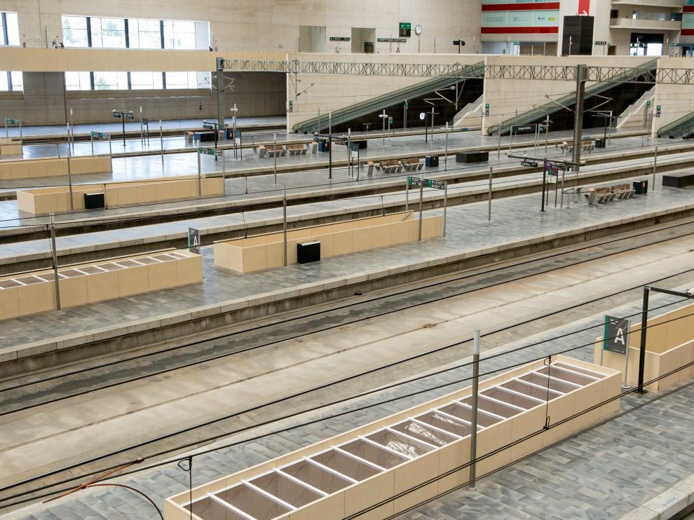 Estación de Delicias de Zaragoza