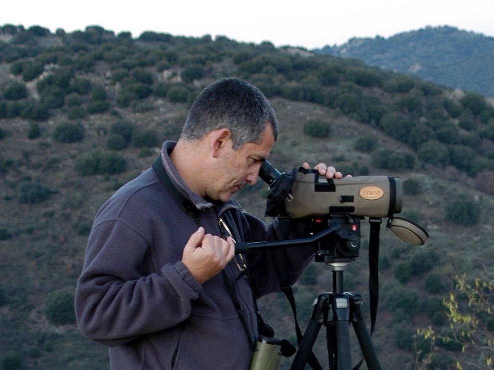 Juan Herrero, ecólogo de la Escuela Politécnica Superior de la Universidad de Zaragoza